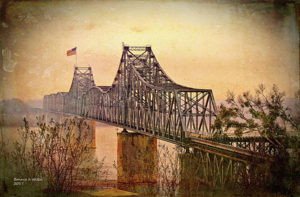 Photograph - Old Bridge Of Vicksberg, Ms by Bonnie Willis