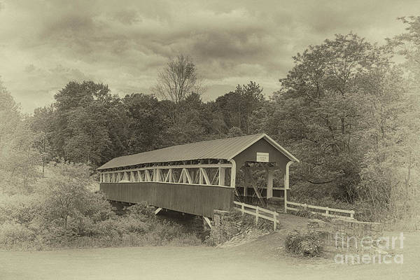 Somerset County Photograph - Old Bridge by Tom Gari Gallery-Three-Photography