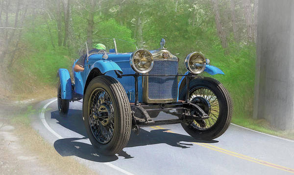 Photograph - Old British Roadster by Bill Posner