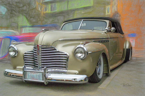 Photograph - Old Buick Convert by Bill Posner