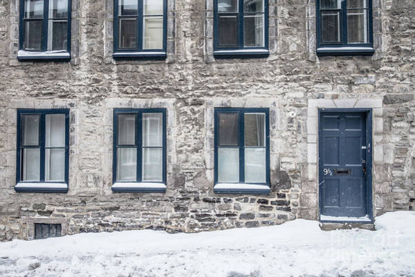 Wall Art - Photograph - Old Building In Quebec City by Edward Fielding