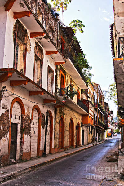 Photograph - Old Buildings In Casco Viejo, Panama by Tatiana Travelways
