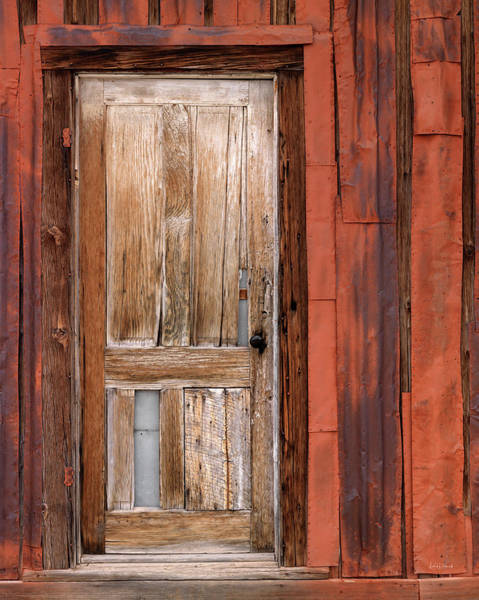 Wall Art - Photograph - Old Cabin In Pioche Nevada by Leland D Howard