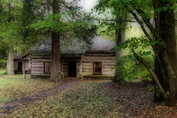 Photograph - Old Cabin by Sandy Keeton