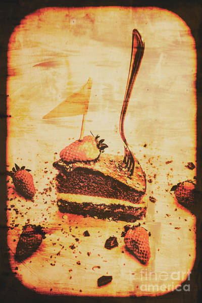 Restaurants Photograph - Old Cake Break by Jorgo Photography - Wall Art Gallery