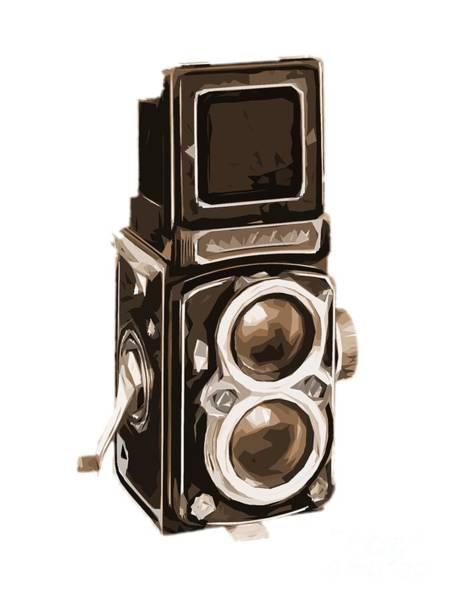 Wall Art - Photograph - Old Camera Tee by Edward Fielding