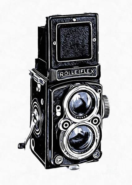 Photograph - Old Camera II by Edward Fielding