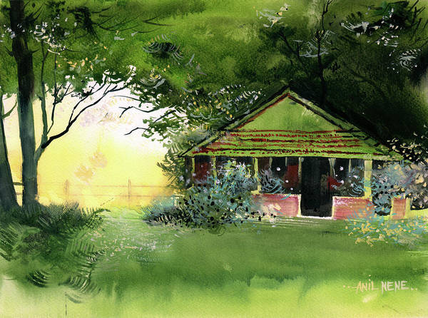 Painting - Old Canteen by Anil Nene