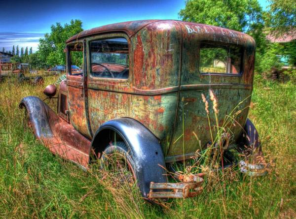 Photograph - Old Car 6 by Lawrence Christopher