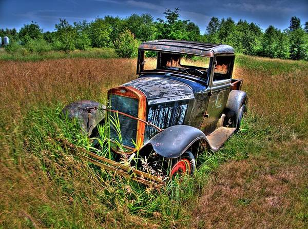 Photograph - Old Car 7 by Lawrence Christopher