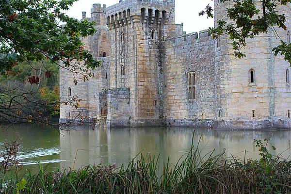 Bodiam Photograph - Old Castle by Vicky Adams