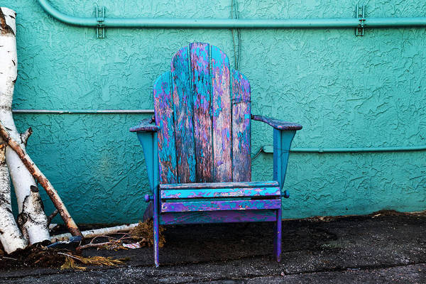Photograph - Old Chair by Tom Woll