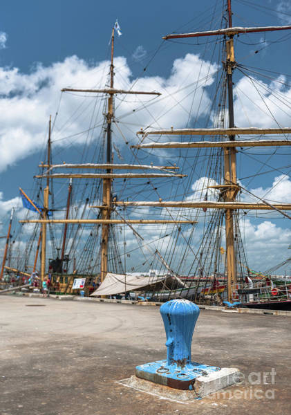 Photograph - Old Charleston Naval Shipyard by Dale Powell