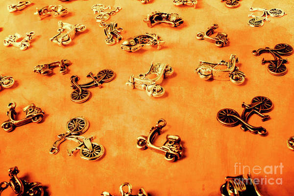 Autos Photograph - Old Charm Scooters by Jorgo Photography - Wall Art Gallery