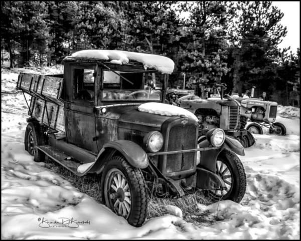 Wall Art - Photograph - Old Chevrolet 2 by Brenda D Busskohl