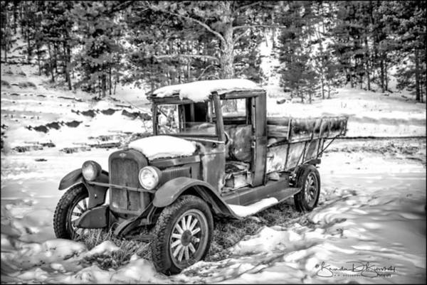 Wall Art - Photograph - Old Chevrolet Pickup by Brenda D Busskohl