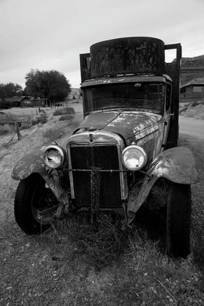 Photograph - Old Chevrolet Truck I Bw by David Gordon