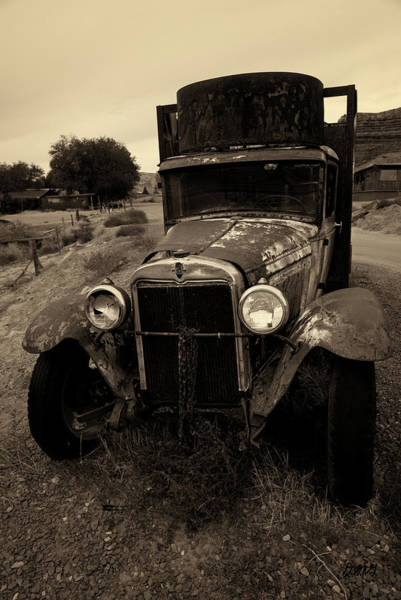 Photograph - Old Chevrolet Truck I Toned by David Gordon