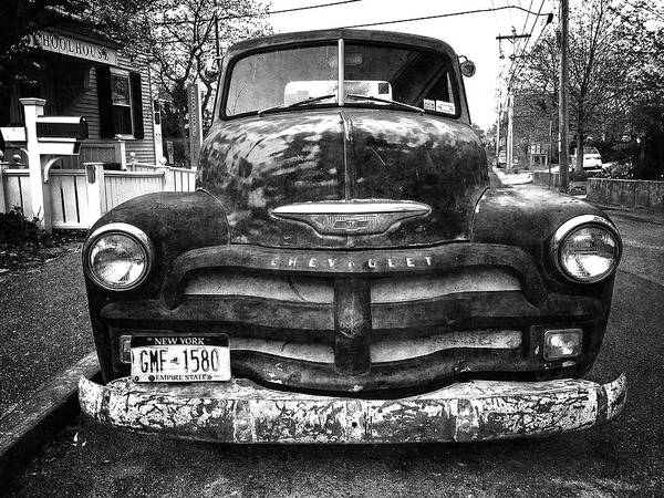 Photograph - Old Chevy 2 by Frank Winters