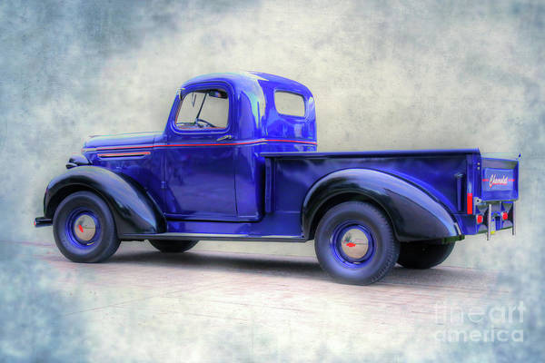 Pick Up Truck Digital Art - Old Chevy Truck by Randy Steele
