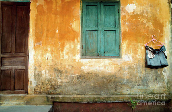 Photograph - Old Chinese Wall Of  Hoi An In Vietnam by Silva Wischeropp