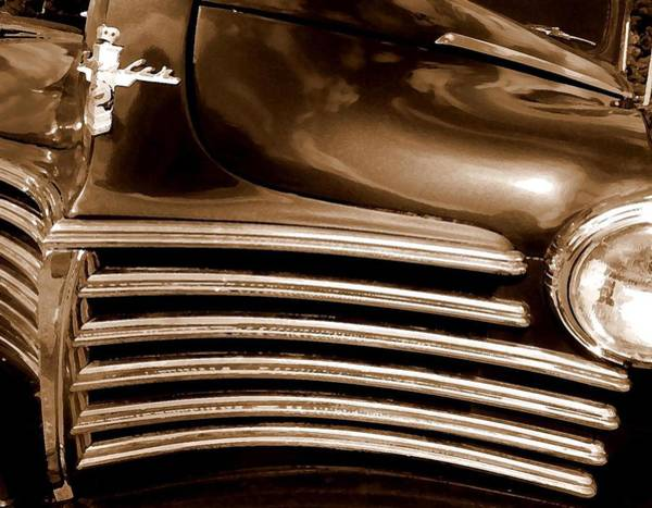Painting - Old Chrysler Grille by Michael Thomas