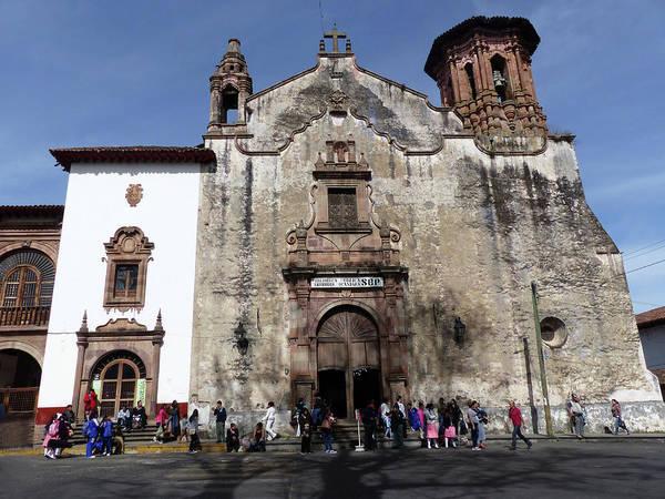 Photograph - Church In Historic Patzcuaro by Rosanne Licciardi