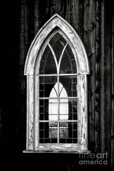 Photograph - Old Church Window by Brad Allen Fine Art