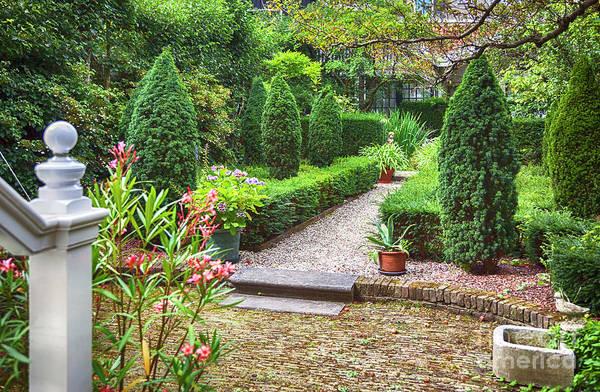Photograph - Old City Yard, Dutch House Garden by Ariadna De Raadt