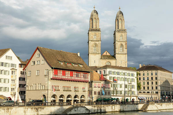 Wall Art - Photograph - Old City Zurich by Stephen Stookey
