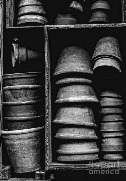 Clay Pot Photograph - Old Clay Pots by Pd