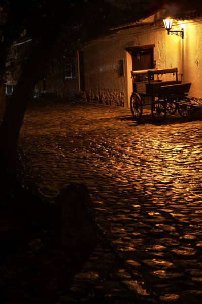 Boyaca Photograph - Old Colonial Street by Jess Kraft