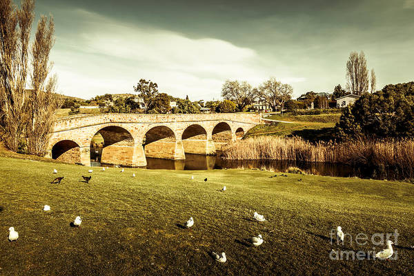 Photograph - Old Colonial Style Bridge  by Jorgo Photography - Wall Art Gallery