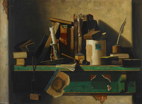 The Horseshoe Wall Art - Painting - Old Companions by John Frederick Peto