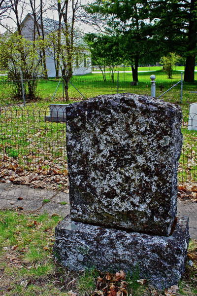 Photograph - Old Country Cemetery by Diana Hatcher