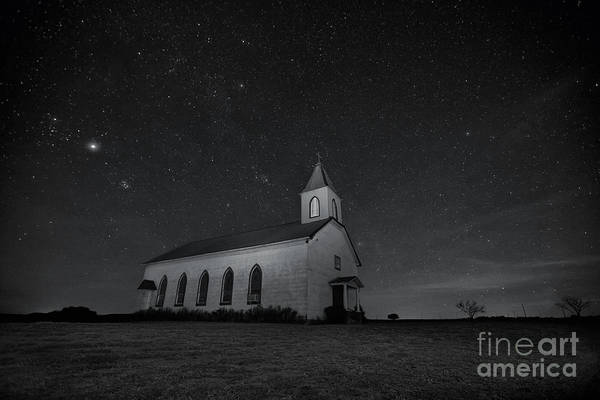Photograph - Old Country Church by Keith Kapple
