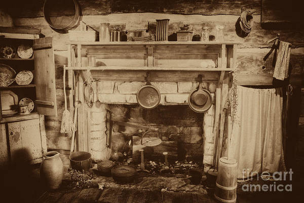 Photograph - Old Country Kitchen by Paul W Faust -  Impressions of Light