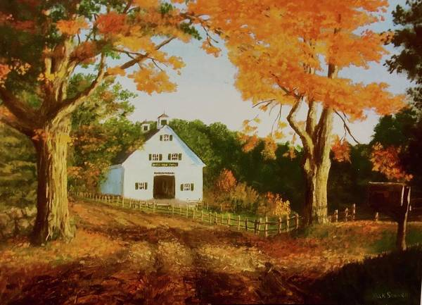 Wall Art - Painting -  Old Country Road by Jack Skinner