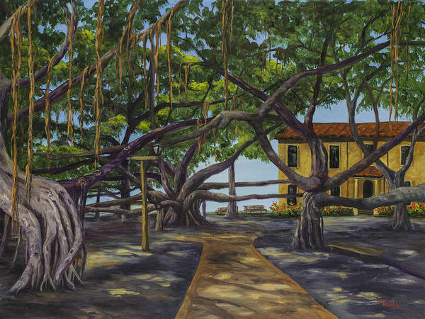 Painting - Old Courthouse Maui by Darice Machel McGuire