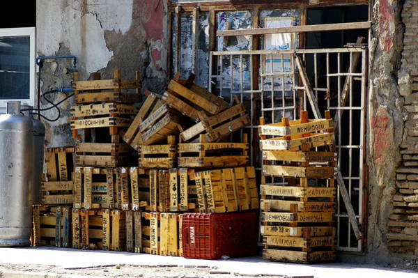 Wall Art - Photograph - Old Crates by Don Prioleau