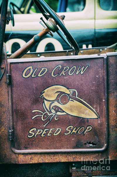 Wall Art - Photograph - Old Crow Speed Shop by Tim Gainey