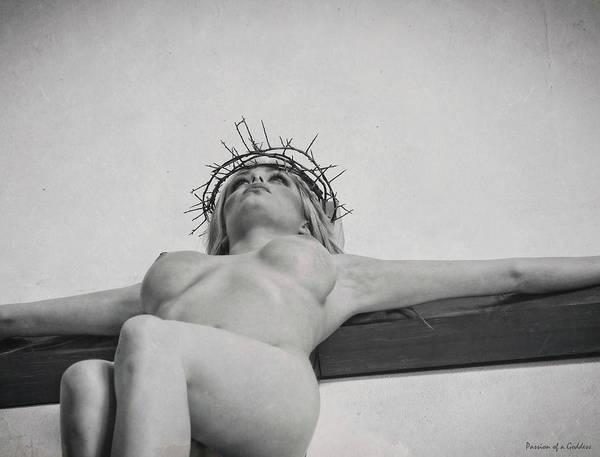 Wall Art - Photograph - Old Crucifix Photo by Ramon Martinez
