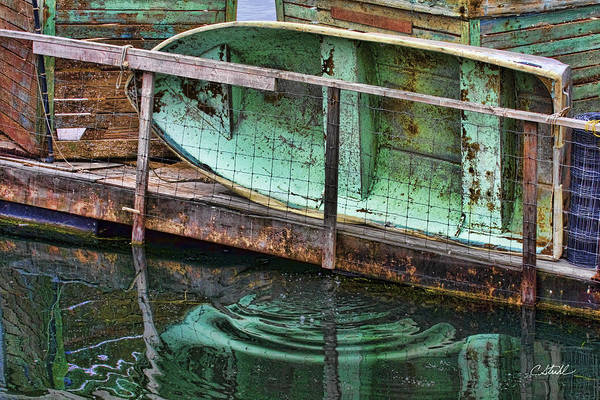 Photograph - Old Crusty Dinghy by Cheryl Strahl