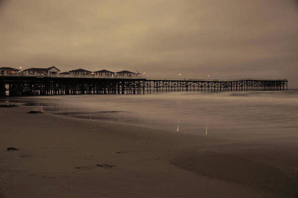 Wall Art - Photograph - Old Crystal Pier  by Kelly Wade