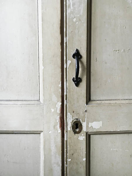 Metal Furniture Photograph - Old Cupboard by Tom Gowanlock