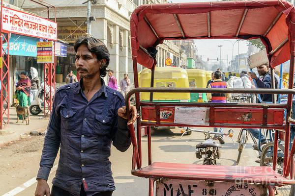 Photograph - Old Delhi From A Rickshaw 01 by Werner Padarin