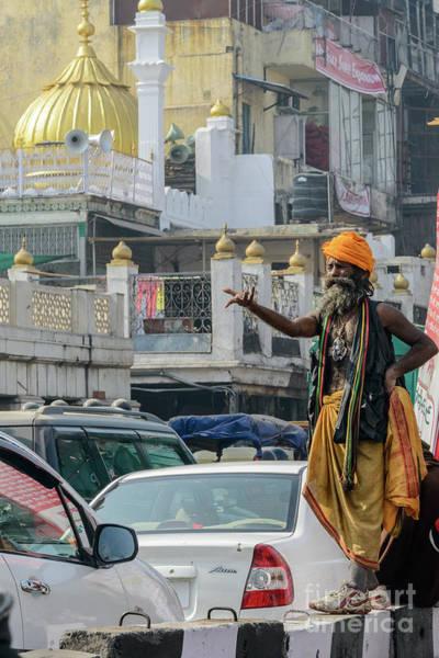 Photograph - Old Delhi From A Rickshaw 06 by Werner Padarin