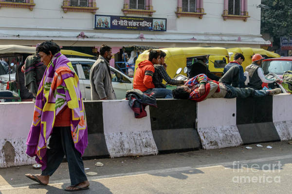 Photograph - Old Delhi From A Rickshaw 11 by Werner Padarin