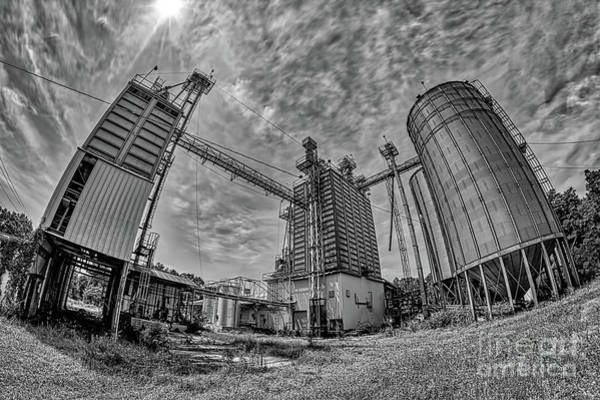 Wall Art - Photograph - Old Deserted Mill In North Carolina Bw by Dan Carmichael
