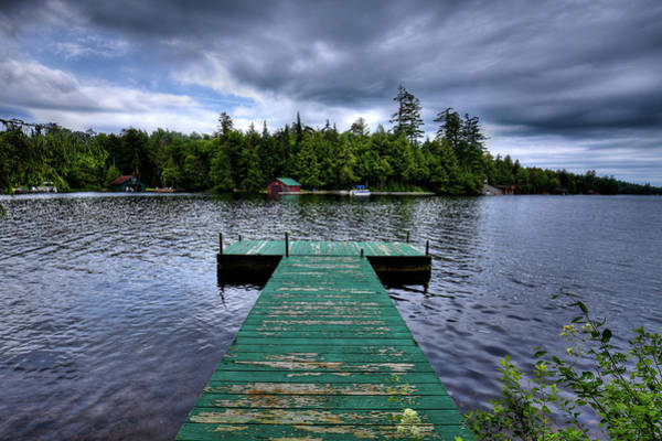 Photograph - Old Dock At Penwood by David Patterson